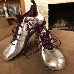 Adidas Team Issued Football Cleats (Texas A&M)